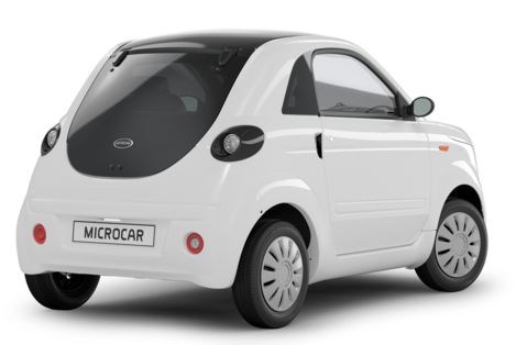 MICROCAR DUE INITIAL - GALERIE  - 3-4 ARRIERE
